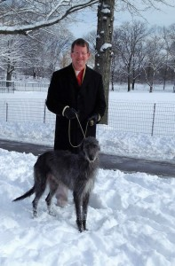Bryan Rice and Westminster Select GCH Jaraluv's Rhapsody in Blue